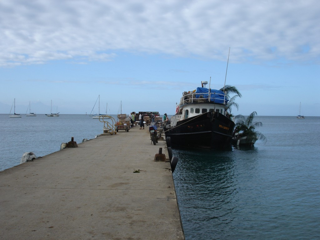 Dock in Utila Honduras