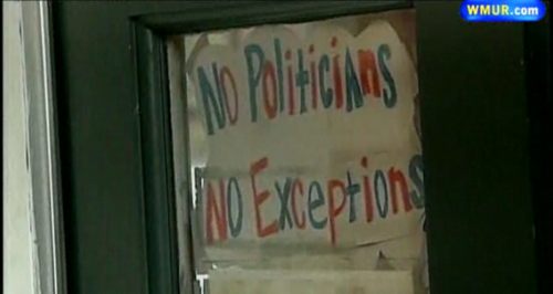 No Politicians. No Exceptions.