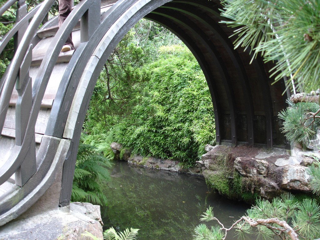 Bridge in the Japanese Garden in San Francisco