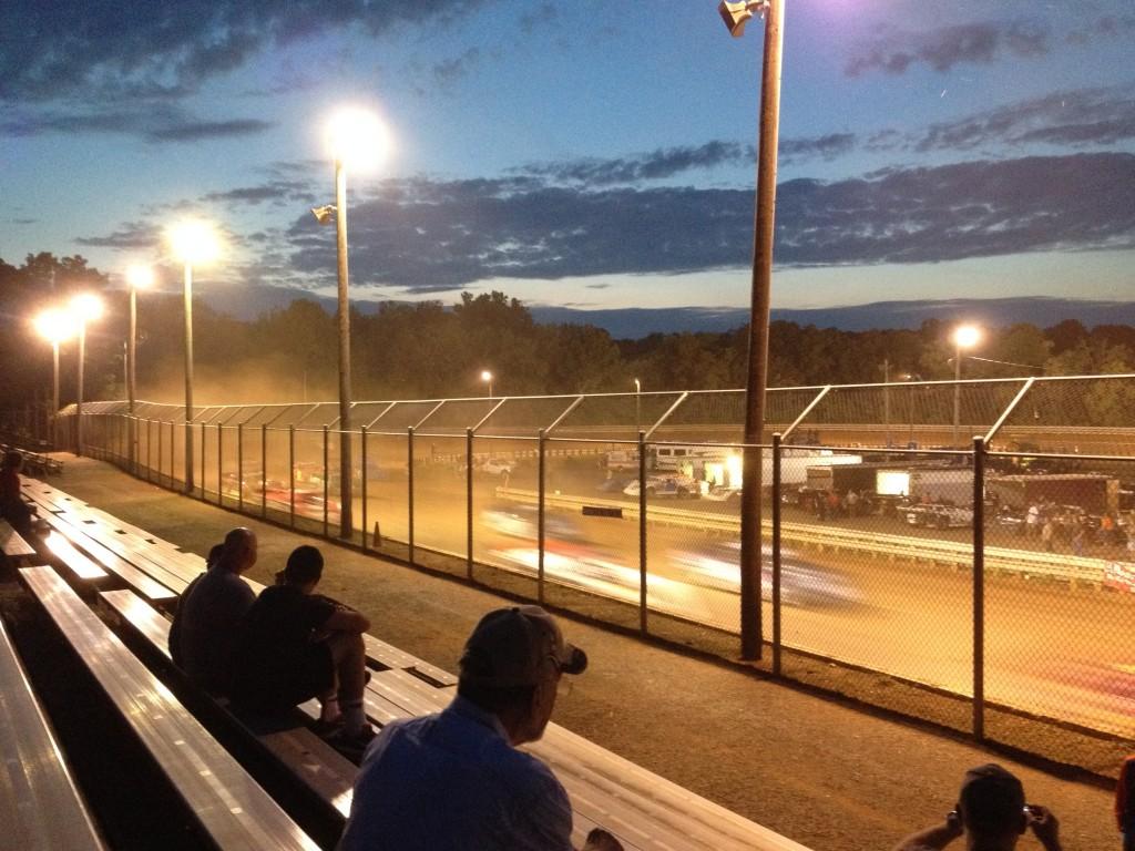 Dirt track at Hagerstown Speedway