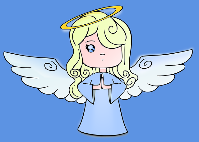 Little blond angel